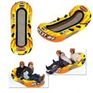 AB-002 Inflatable Oval Snow Tube