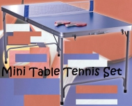 YF-089  Mini Table Tennis Table Set
