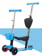 DP-09  4 in 1 Kiddy Basket Scooter
