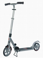 200-200A Suspension scooter